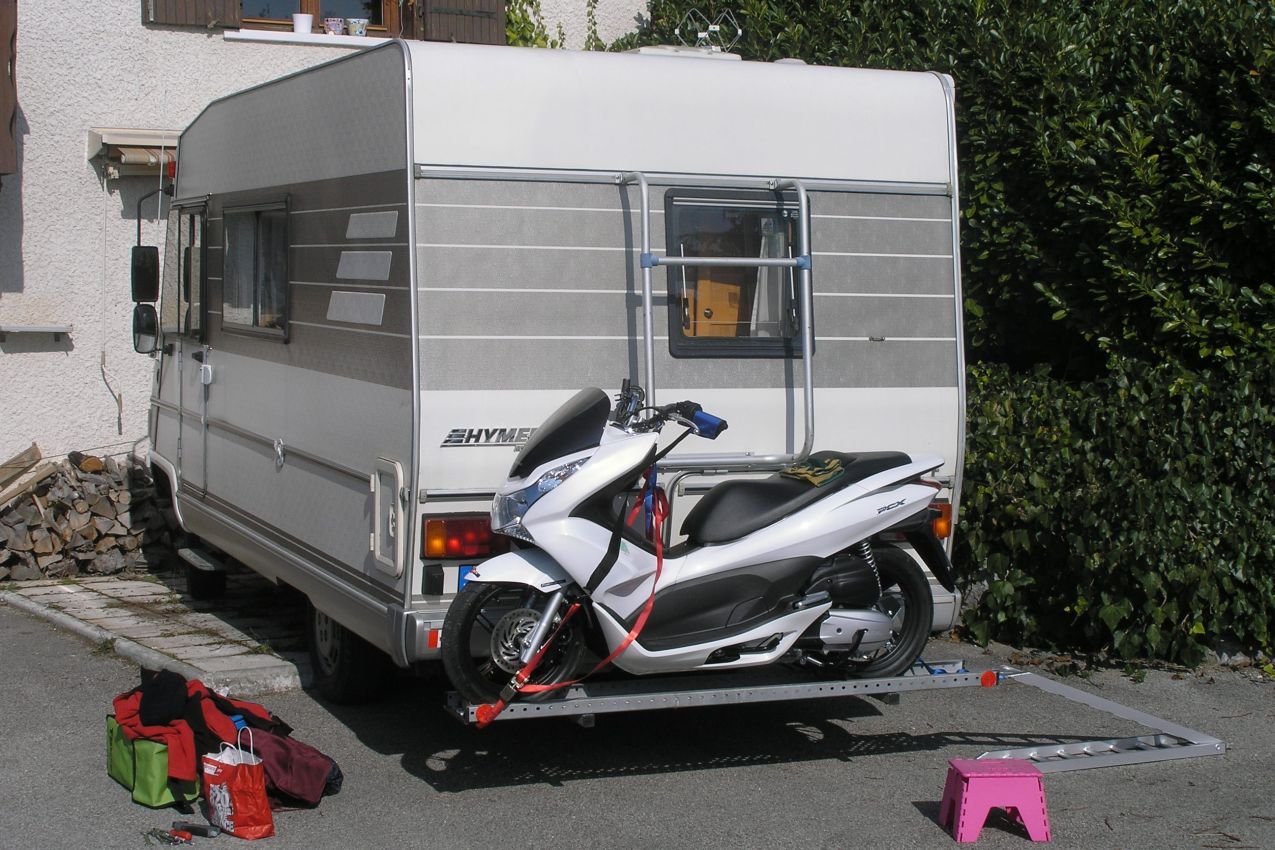 Motorhome Motorbike Carrier For Sale Motorcycle Review